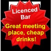 Cheap drinks at RV Park Maryborough